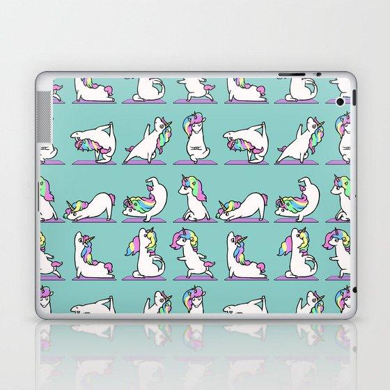 Unicorn Yoga Laptop & iPad Skin