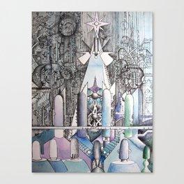 """""""vortex"""" Canvas Print"""