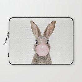 Bubble Gum Rabbit Laptop Sleeve