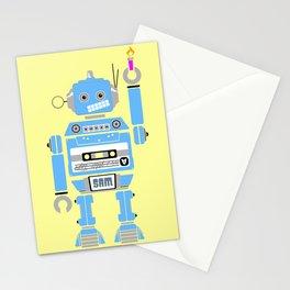 80s Mix Tape Robot - Sam Stationery Cards
