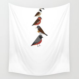 Bird Tower Wall Tapestry
