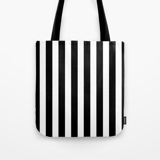 Classic Black and White Football / Soccer Referee Stripes by podartist