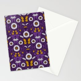 Art Nouveau daisies  Stationery Cards