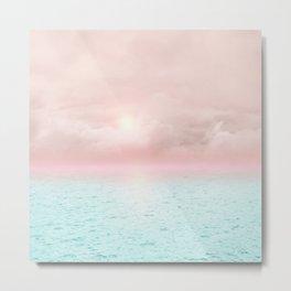 Calm sunset 02 Metal Print