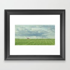 Carretera Solitaria Framed Art Print