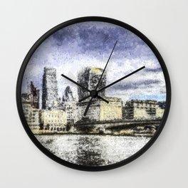 City of London Art Wall Clock