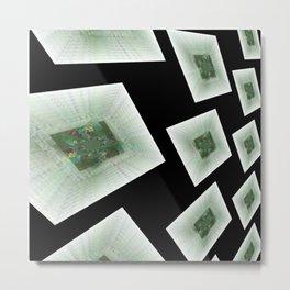 Wall of Mandalic Universes Metal Print