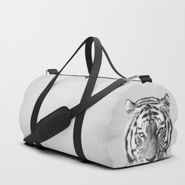 Tiger - Black & White Duffle Bag