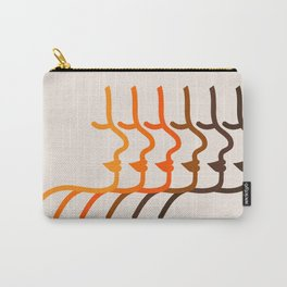 Golden Silhouettes Carry-All Pouch