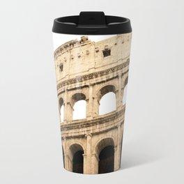 The Colosseum, Rome, Italy. Travel Mug