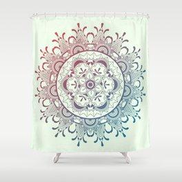 Tender mandala Shower Curtain