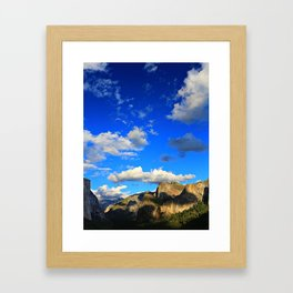 Tunnel View, Yosemite National Park, Fall 2013 Framed Art Print