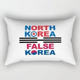 North Korea Rectangular Pillow