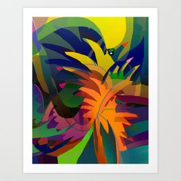 Tropical Sounds Art Print