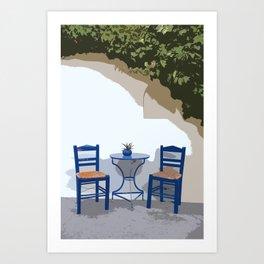 greek life Art Print