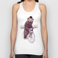 jazzberry Tank Tops featuring Barnabus by Eric Fan
