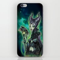 evil iPhone & iPod Skins featuring EVIL by Tim Shumate