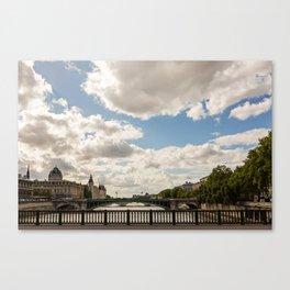 Paris Skies Canvas Print