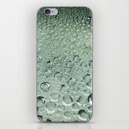 Water and rain iPhone Skin