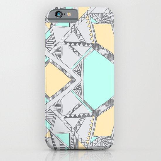 Aztec print illustration (2) iPhone & iPod Case