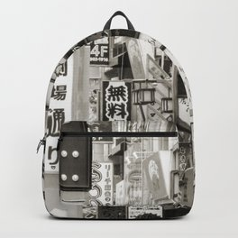Signs of Tokyo Backpack