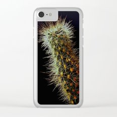Cacti, Strength From A Deep Reservoir Clear iPhone Case