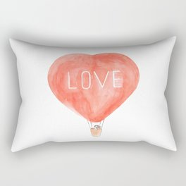 LOVE in the air Rectangular Pillow