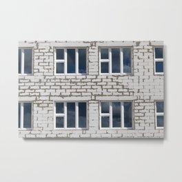 brick building Metal Print