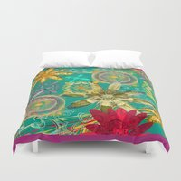 baroque Duvet Covers featuring BAROQUE by PRIMKASTUDIO