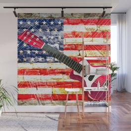 Sounds of America Wall Mural