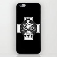 nurse iPhone & iPod Skins featuring Nurse by Trine Paulsen
