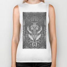 3:33 Live From the Grove - Moloch print Biker Tank