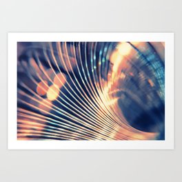 Slinky Abstract Art Print