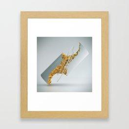 DEDUCT Framed Art Print