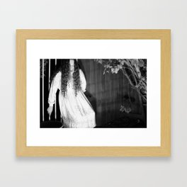 Screaming Chelsey Framed Art Print