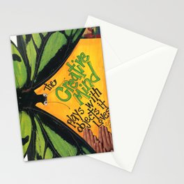 Butterfly  ( The Creative Mind) Stationery Cards