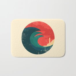 The wild ocean Bath Mat