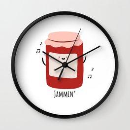 Jammin' Wall Clock