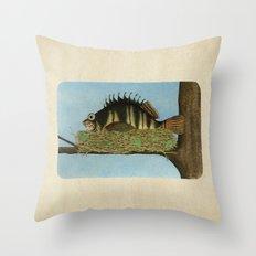 Hawkfish Throw Pillow