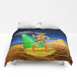 Ancient Vulcan Space Alien Comforters