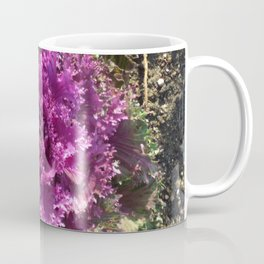 Getty Villa Garden Malibu  Purple Plant Coffee Mug