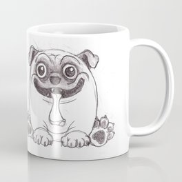 Mozart The Pug Coffee Mug