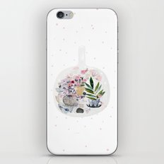 Garden in a bottle iPhone & iPod Skin