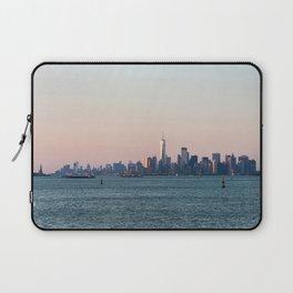 New York City Summer Sunset Skyline Laptop Sleeve