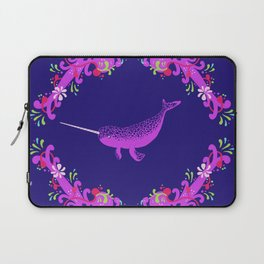 Narwhal: Unicorn of the Sea Laptop Sleeve