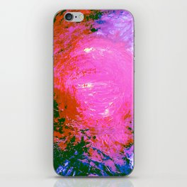 Abstract Cataclysm by Robert S. Lee iPhone Skin