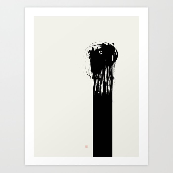 As One (West Meets East Series) Art Print
