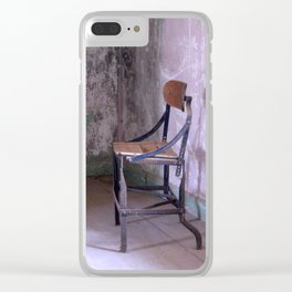 Layers of Time, Urban exploration Clear iPhone Case
