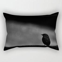Bird Silhouette Rectangular Pillow
