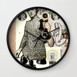 COLLAGE: Phone Wall Clock